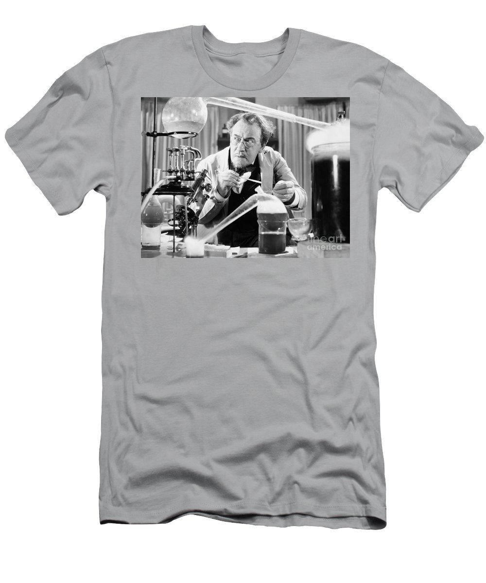 -laboratories- Men's T-Shirt (Athletic Fit) featuring the photograph Silent Still: Laboratories by Granger