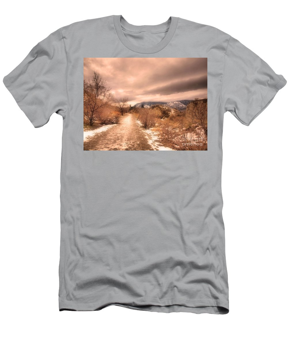 Road Men's T-Shirt (Athletic Fit) featuring the photograph The Kvr Collection by Tara Turner