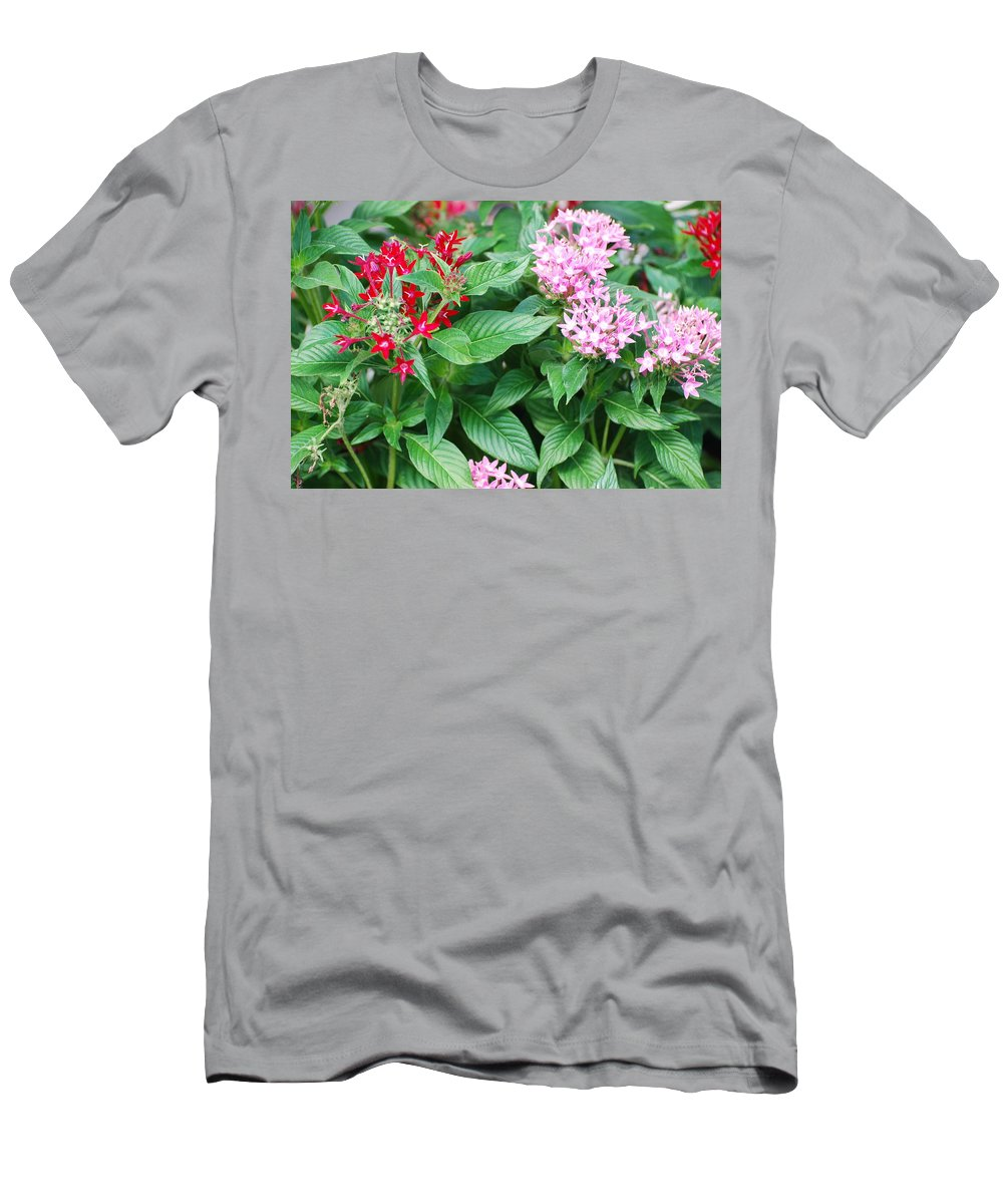 Flowers Men's T-Shirt (Athletic Fit) featuring the photograph Flowers by Rob Hans