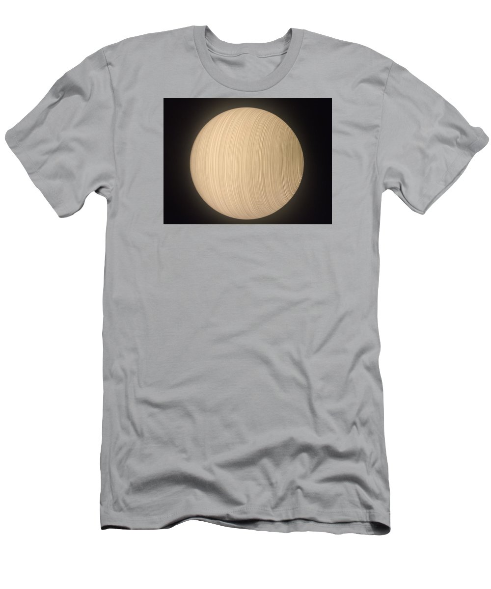 Abstract Men's T-Shirt (Athletic Fit) featuring the photograph Lunatique by Pierre Calviera