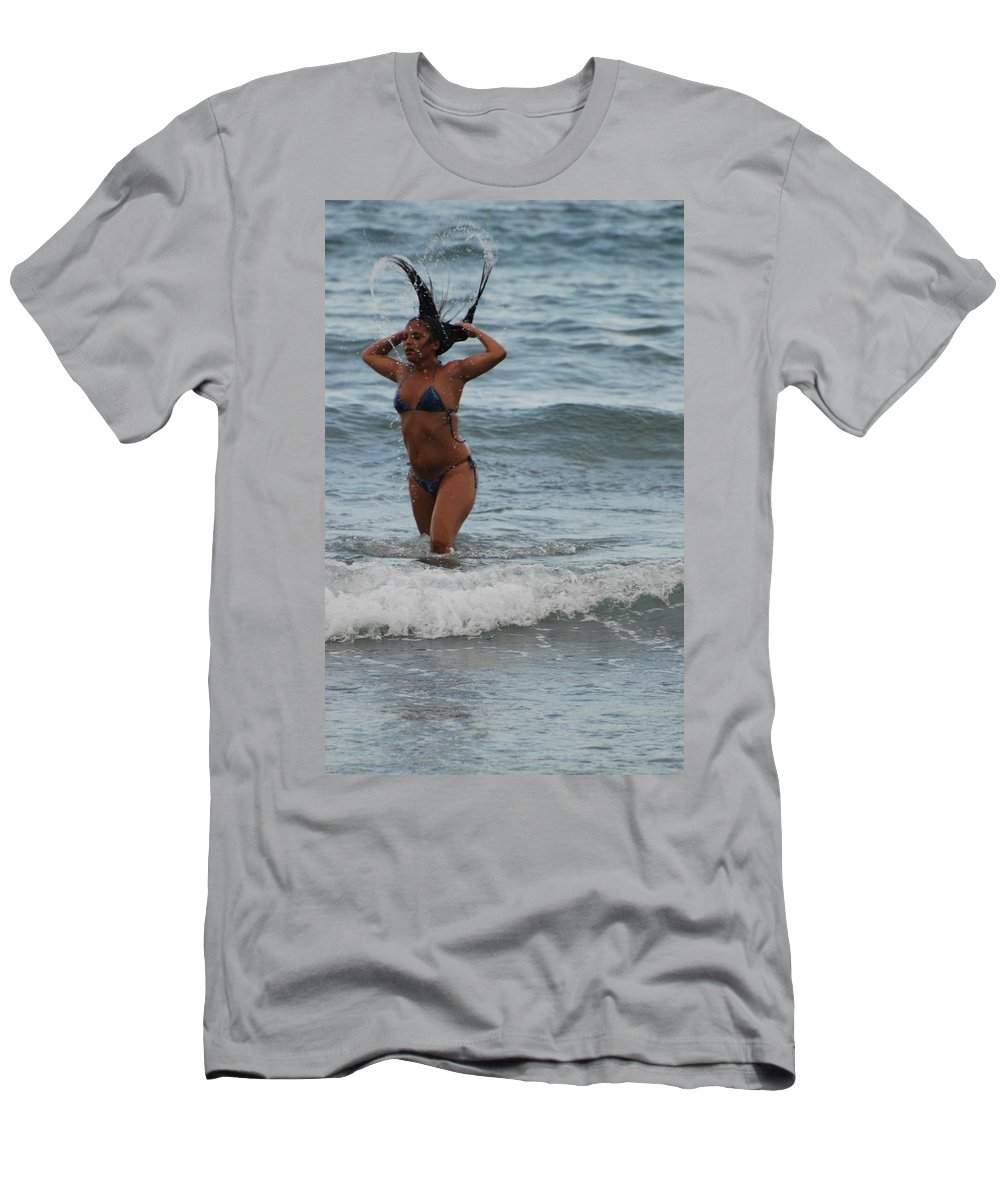Sexy Men's T-Shirt (Athletic Fit) featuring the photograph Brazilian Beauty by Rob Hans