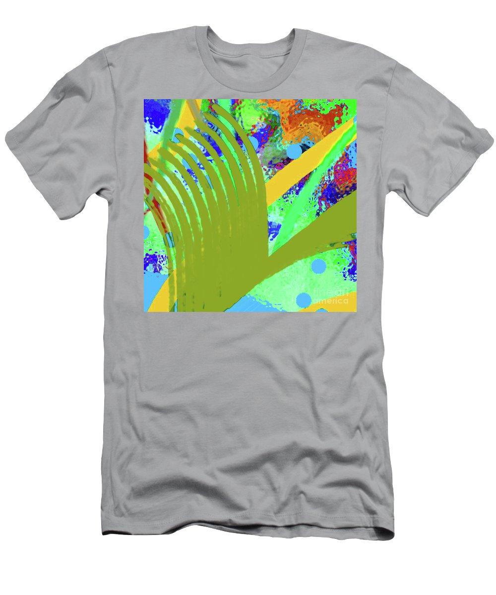 Walter Paul Bebirian Men's T-Shirt (Athletic Fit) featuring the digital art 8-27-2015cabcdefghijklmnopq by Walter Paul Bebirian