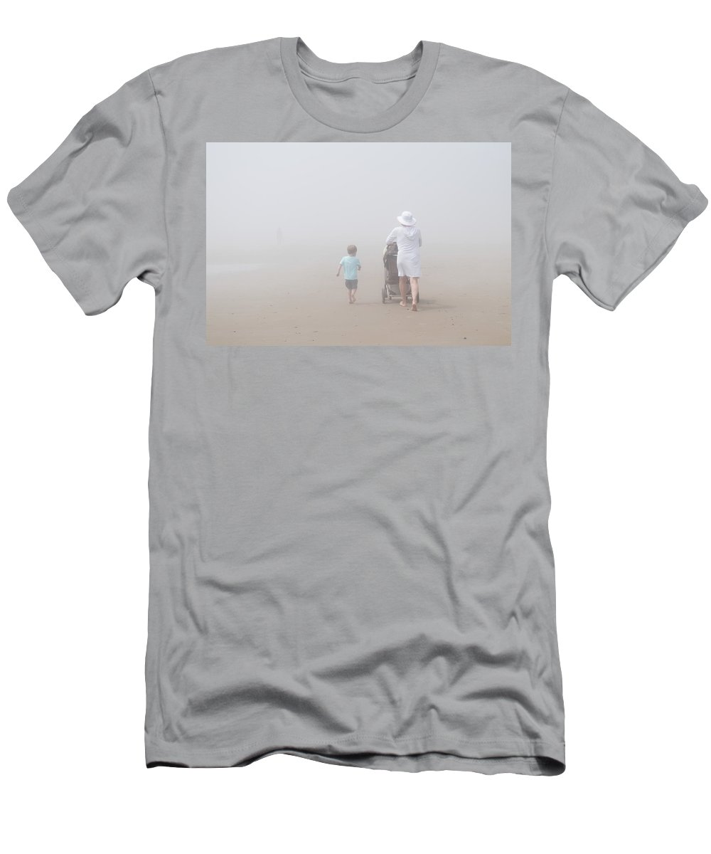 Alan Brown Men's T-Shirt (Athletic Fit) featuring the photograph A Grandma's Love by Alan Brown