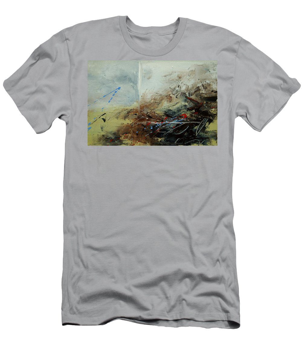 Abstract Men's T-Shirt (Athletic Fit) featuring the print Abstract 070408 by Pol Ledent