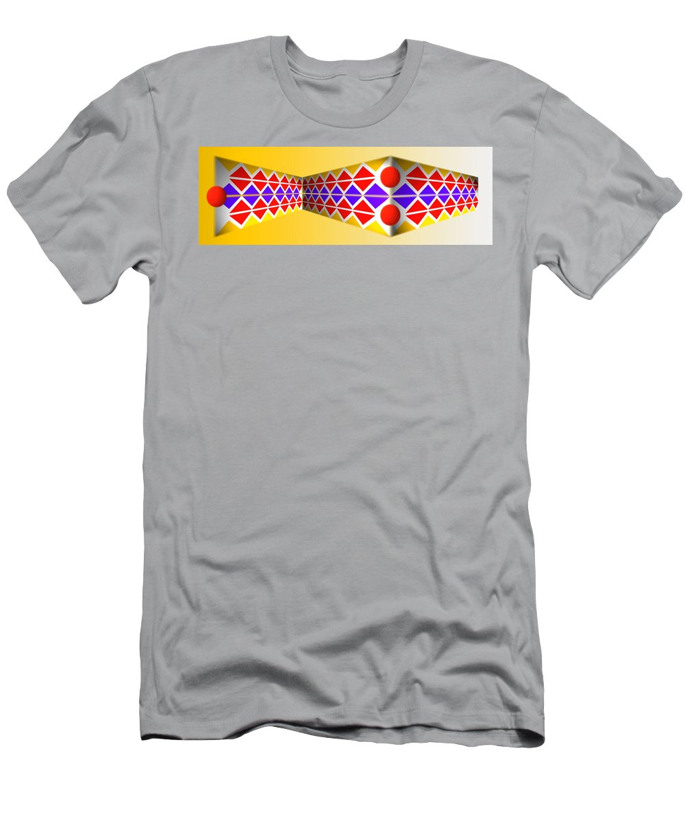 Native American Men's T-Shirt (Athletic Fit) featuring the painting After The Gold Rush by Charles Stuart