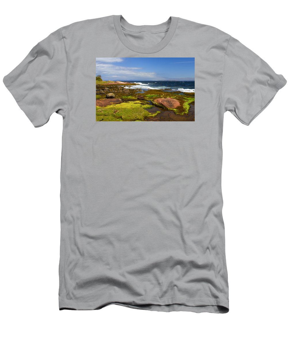 Sky Men's T-Shirt (Athletic Fit) featuring the photograph Almost Unreal by Aksana Tek