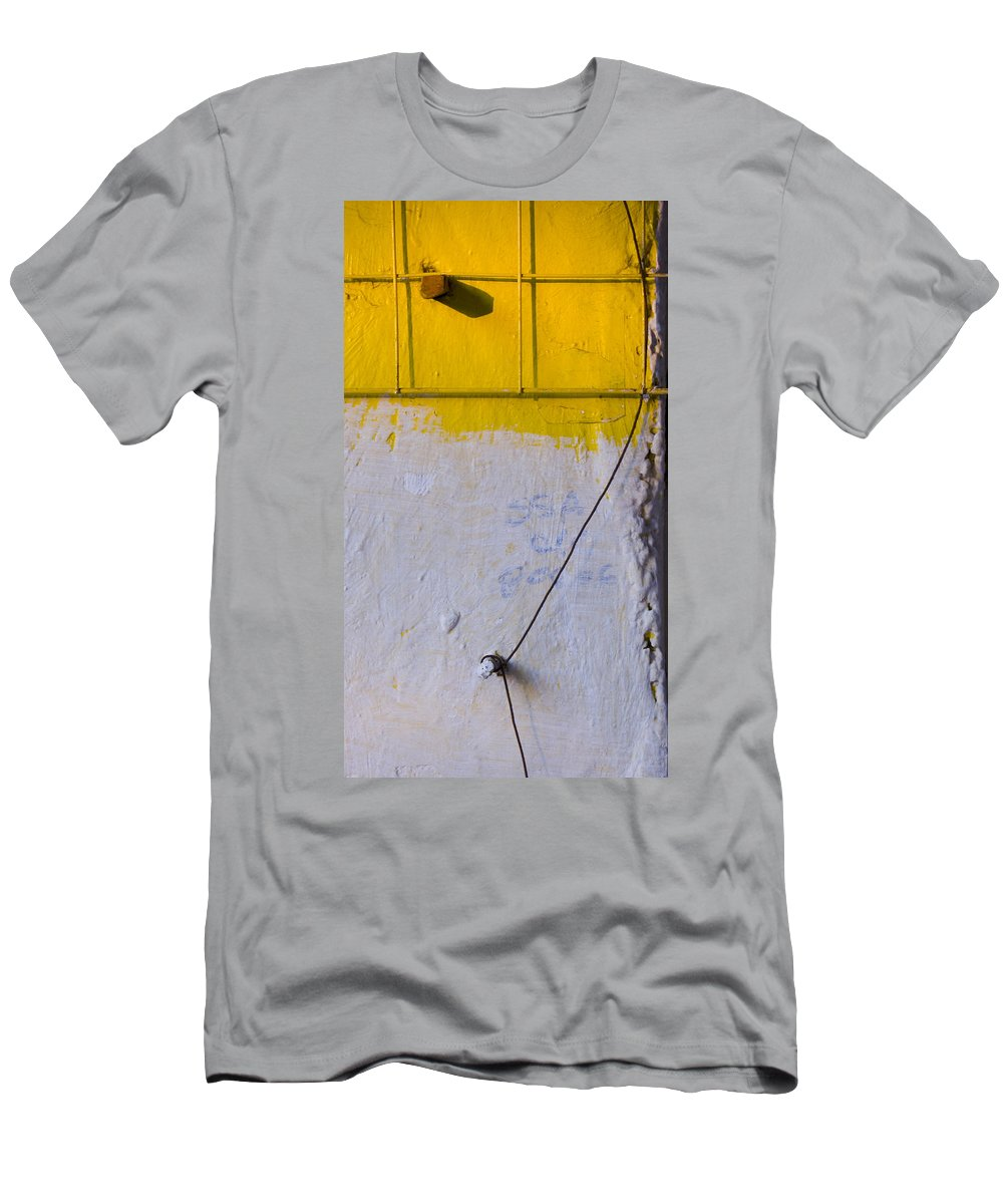 Abstract Men's T-Shirt (Athletic Fit) featuring the photograph Amarillo by Skip Hunt