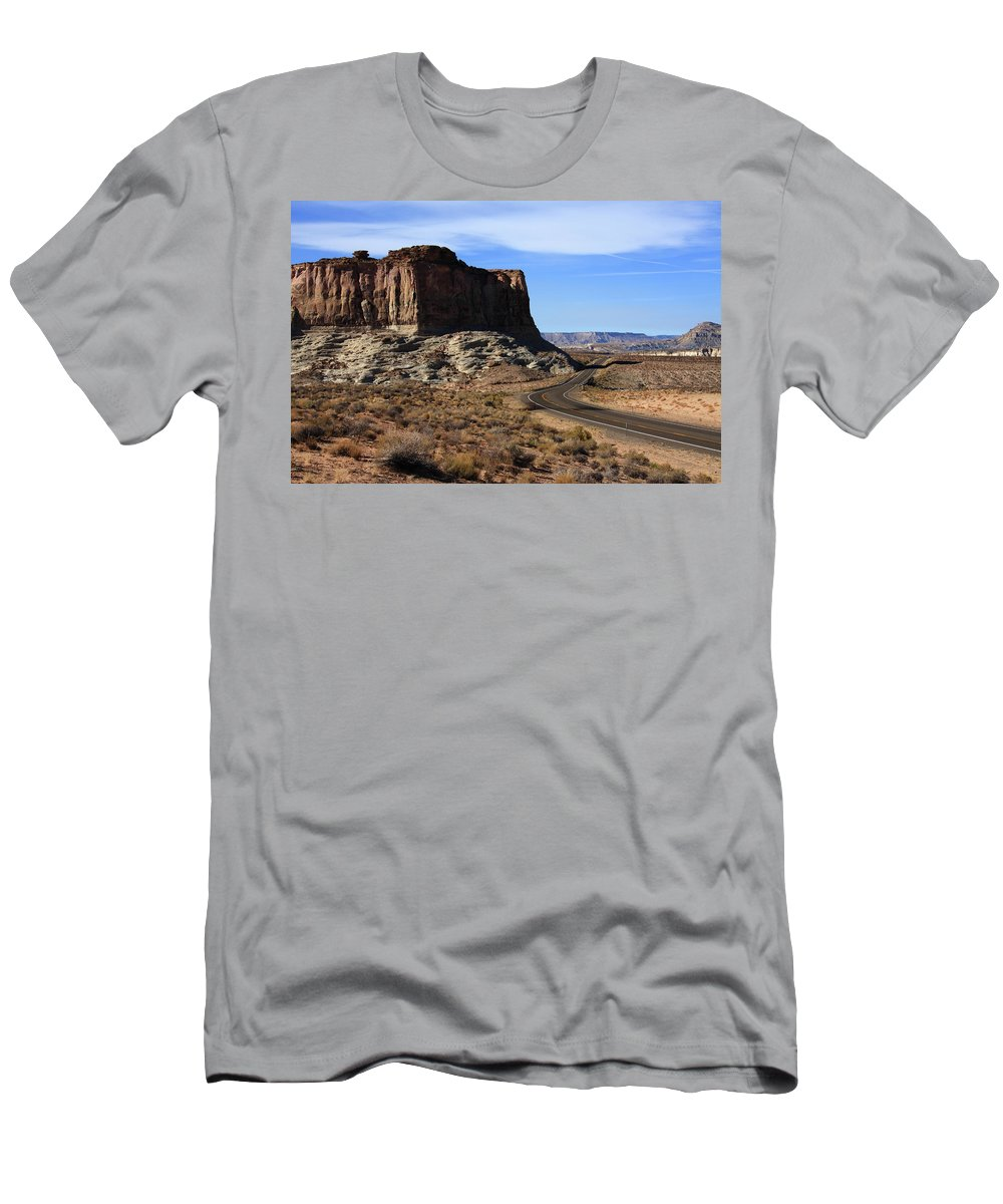 Desert Men's T-Shirt (Athletic Fit) featuring the photograph American West by Aidan Moran