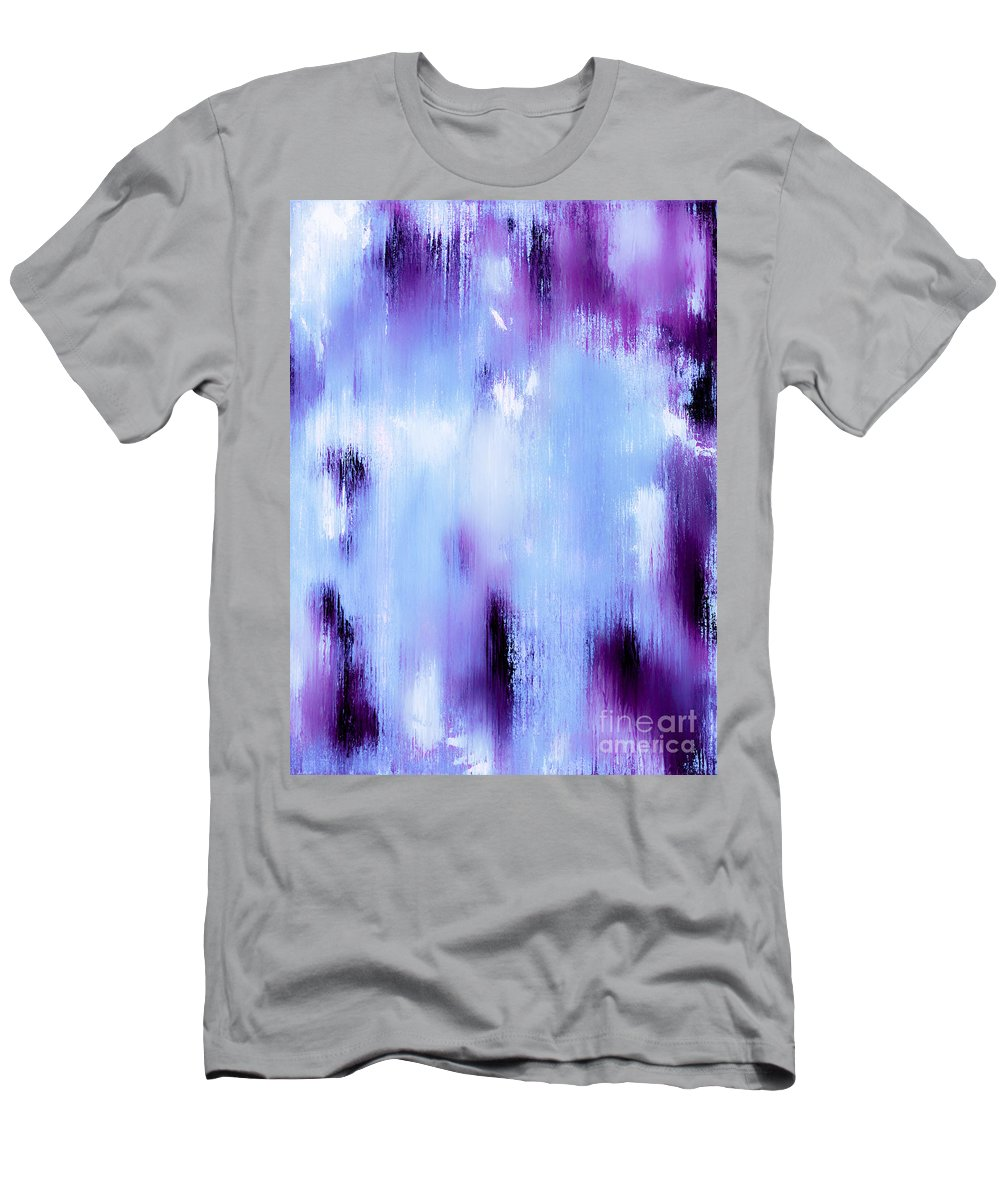 Abstract Men's T-Shirt (Athletic Fit) featuring the painting An Angels Song by Wayne Cantrell