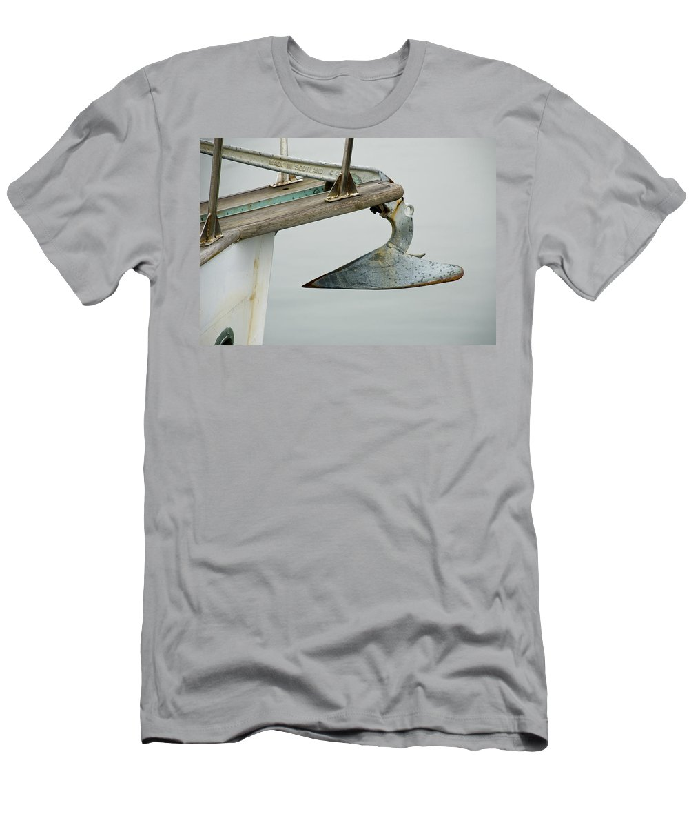 Anchor Men's T-Shirt (Athletic Fit) featuring the photograph Anchor by Charles Harden