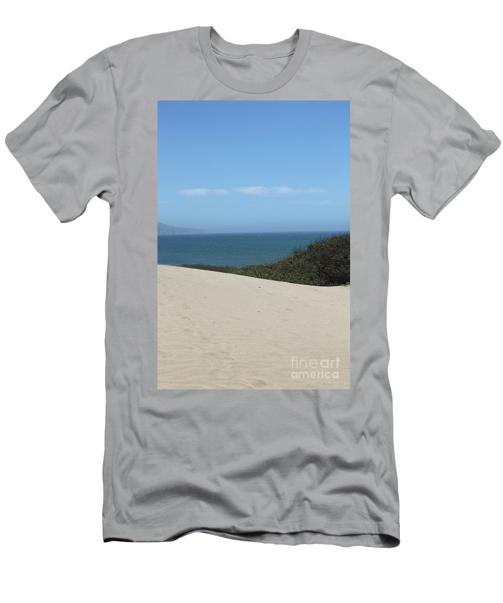 ano Nuevo Men's T-Shirt (Athletic Fit) featuring the photograph Ano Neuvo by Amanda Barcon