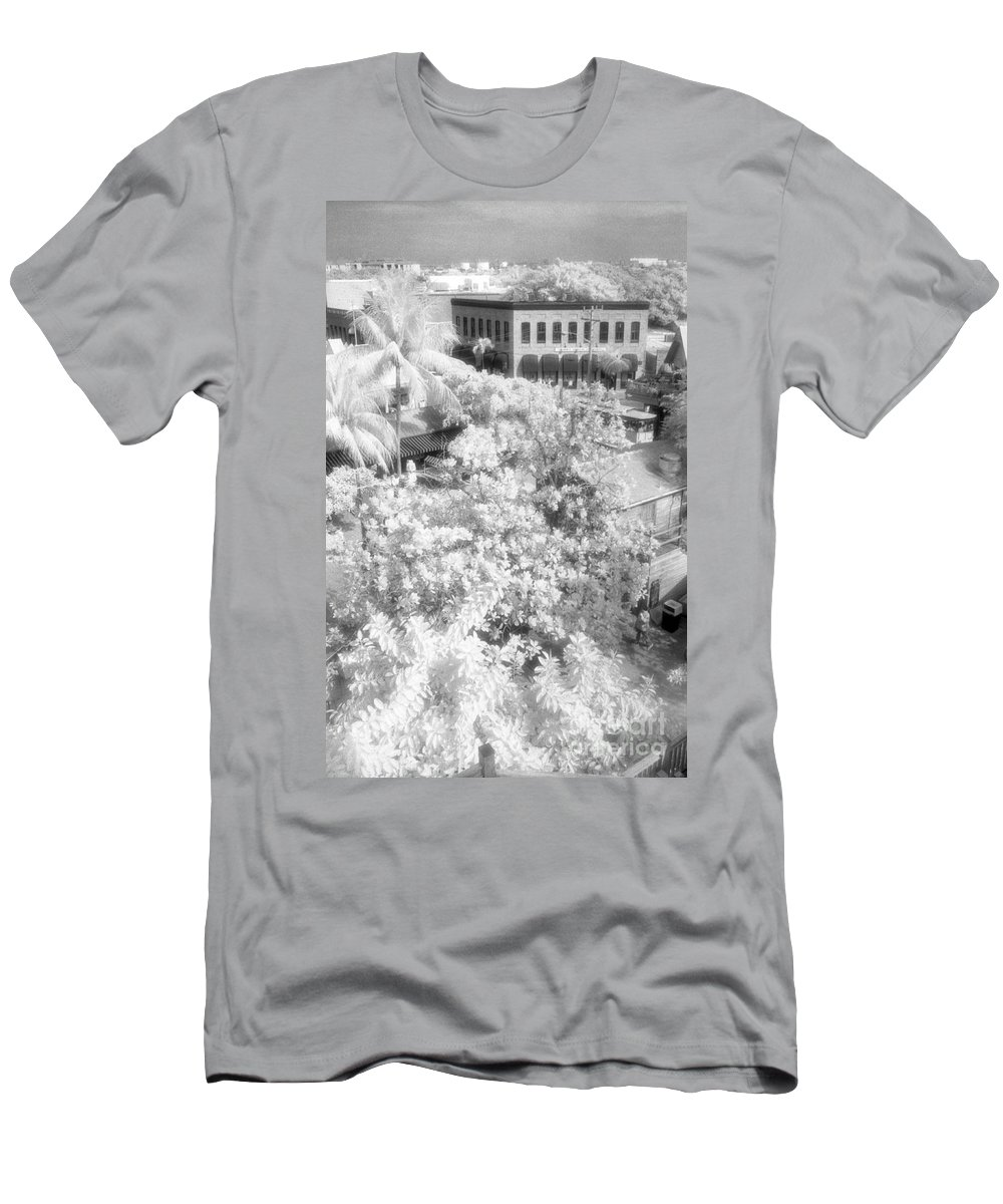 Key West Men's T-Shirt (Athletic Fit) featuring the photograph Another View by Richard Rizzo