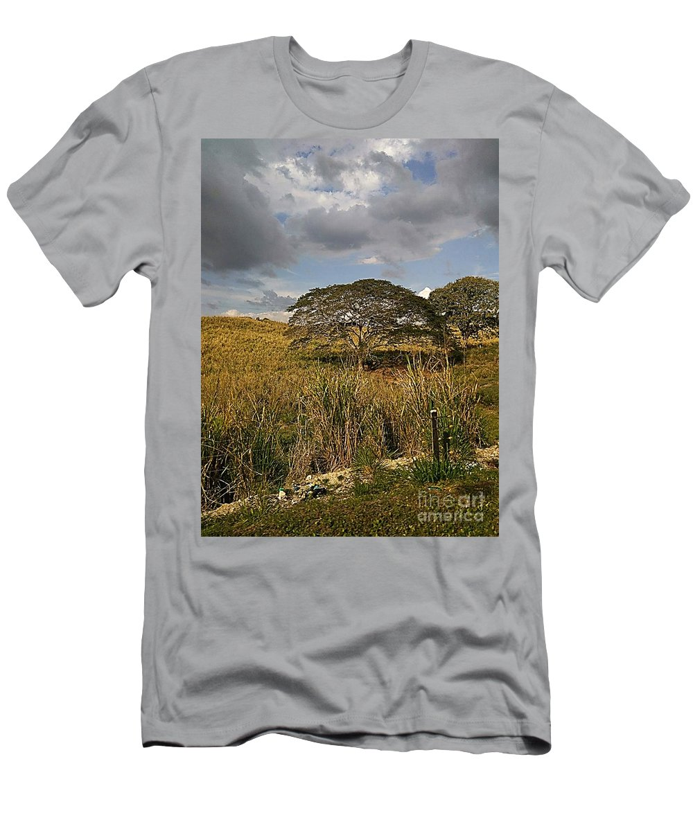 Men's T-Shirt (Athletic Fit) featuring the photograph Arboletes by Pahola Baro Sfer
