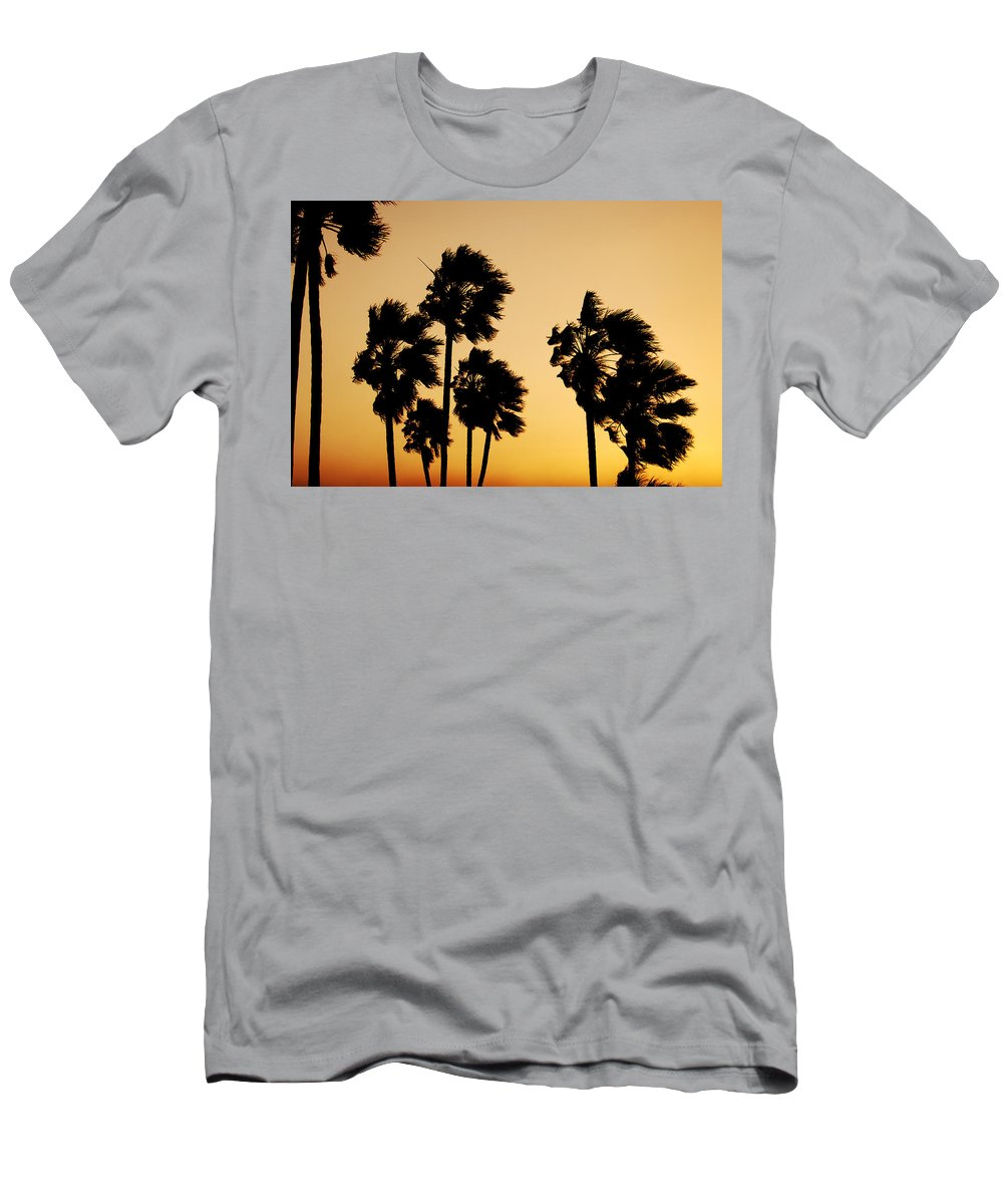 Arizona Men's T-Shirt (Athletic Fit) featuring the photograph Arizona Dust Storm by Jill Reger