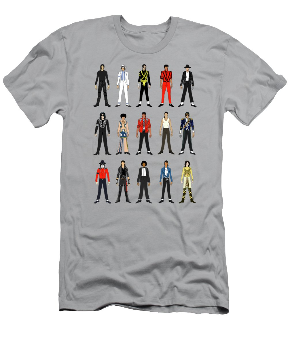f51122c7e8ea Michael Jackson Men s T-Shirt (Athletic Fit) featuring the digital art  Outfits Of