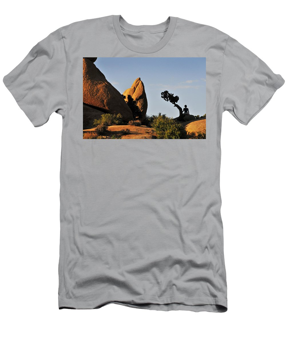 Awake Men's T-Shirt (Athletic Fit) featuring the photograph Awake by Skip Hunt
