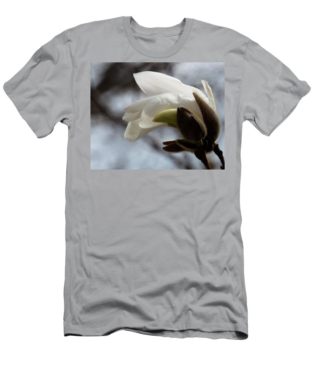Photography Men's T-Shirt (Athletic Fit) featuring the photograph Awakening by Steven Natanson