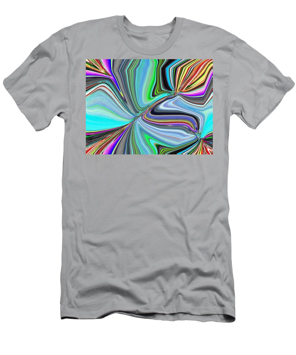 Bloom Men's T-Shirt (Athletic Fit) featuring the digital art Ba Da Bloom by Tim Allen