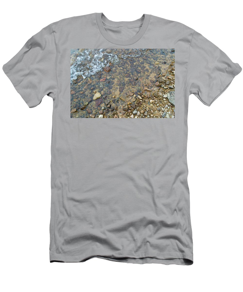 Lake Men's T-Shirt (Athletic Fit) featuring the photograph Balanced Lake Entry by Dustin Jensen