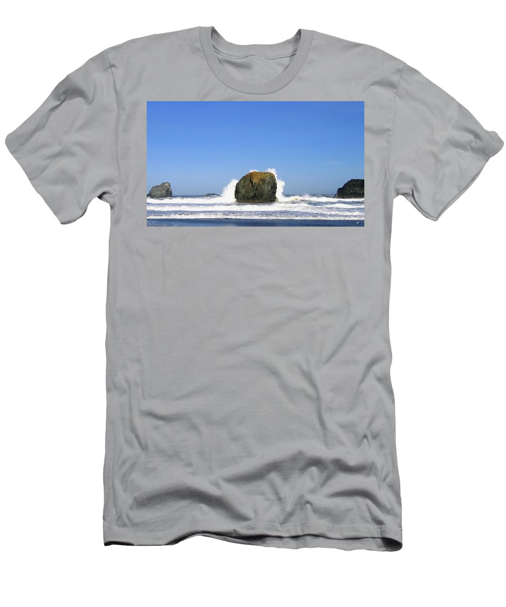 Bandon Men's T-Shirt (Athletic Fit) featuring the photograph Bandon 14 by Will Borden