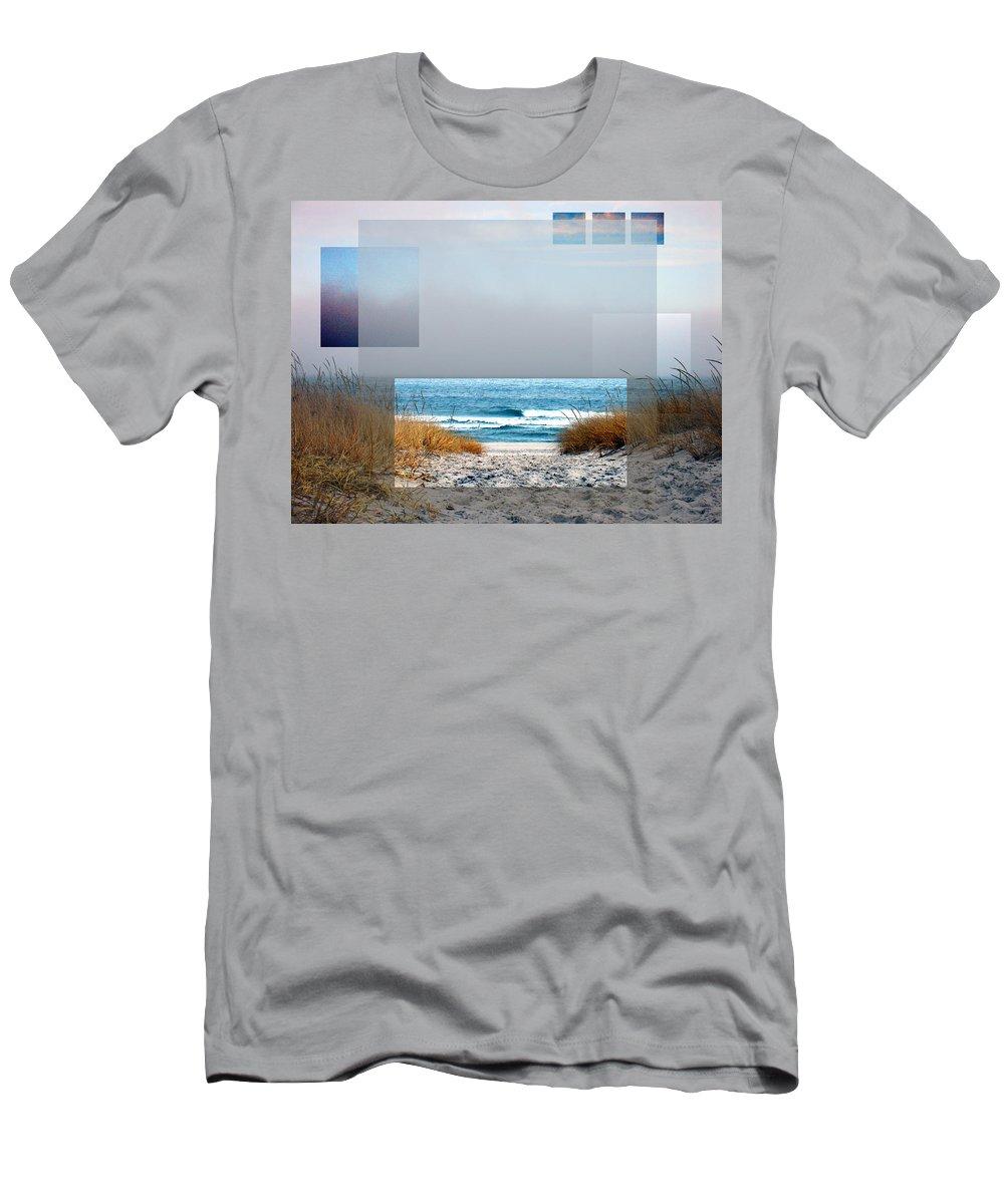 Beach T-Shirt featuring the photograph Beach Collage by Steve Karol