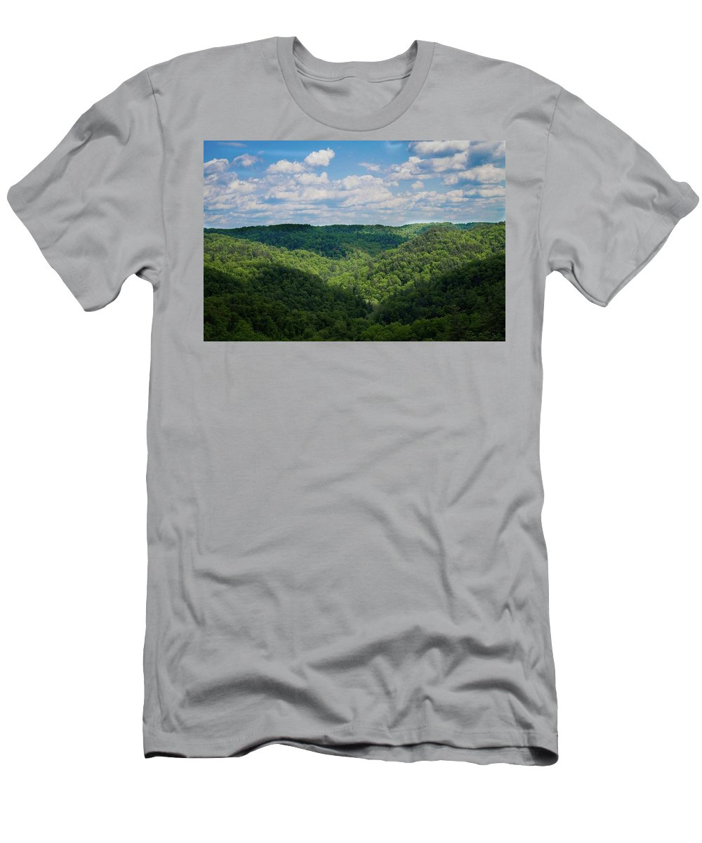 Landscape Men's T-Shirt (Athletic Fit) featuring the photograph Beauty In Nature by Jill Ballard