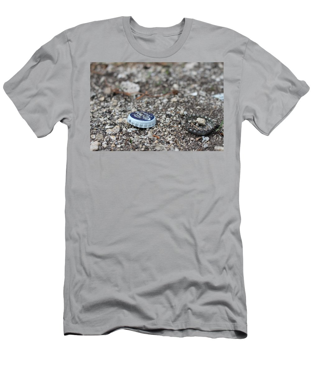 Men's T-Shirt (Athletic Fit) featuring the photograph Beer Cap by Antony Batista