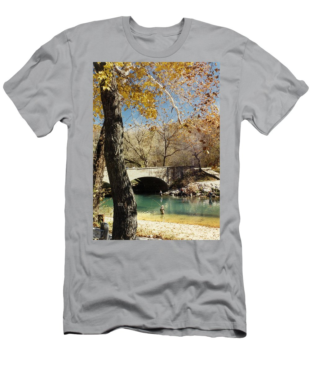 Landscape T-Shirt featuring the photograph Bennet Springs by Steve Karol