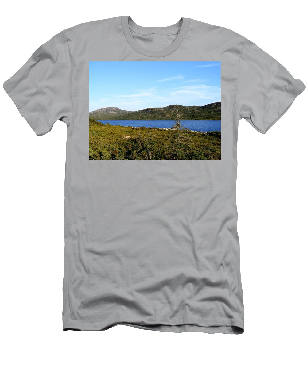 Big Pond Men's T-Shirt (Athletic Fit) featuring the photograph Big Pond II by Barbara Griffin