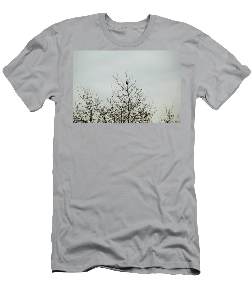 Men's T-Shirt (Athletic Fit) featuring the photograph Bird005 by Jeff Downs
