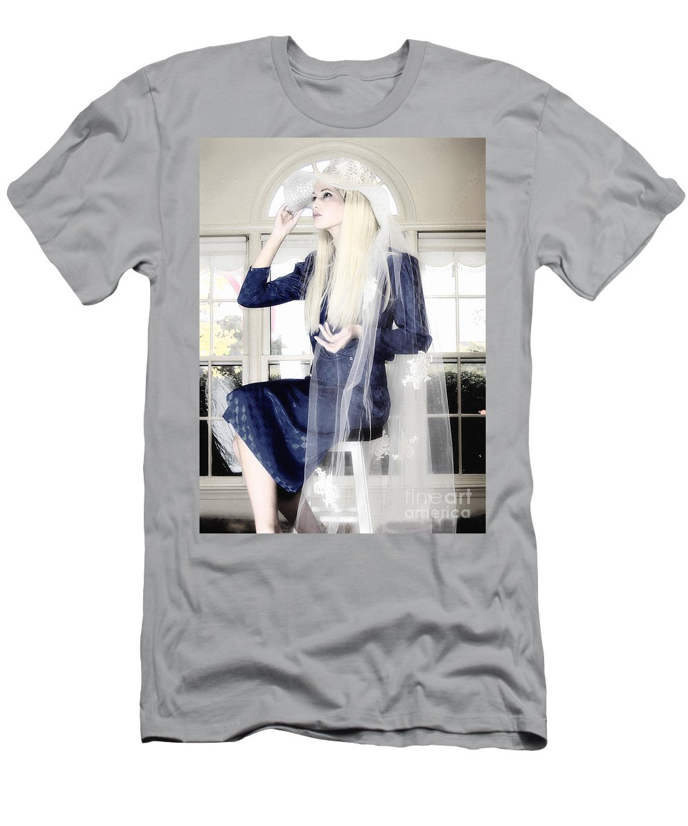 Clay Men's T-Shirt (Athletic Fit) featuring the photograph Blanco Beauty by Clayton Bruster