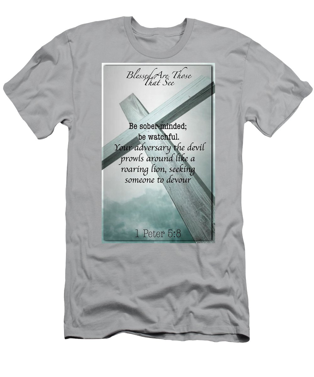 Men's T-Shirt (Athletic Fit) featuring the photograph Blessed 33 by David Norman
