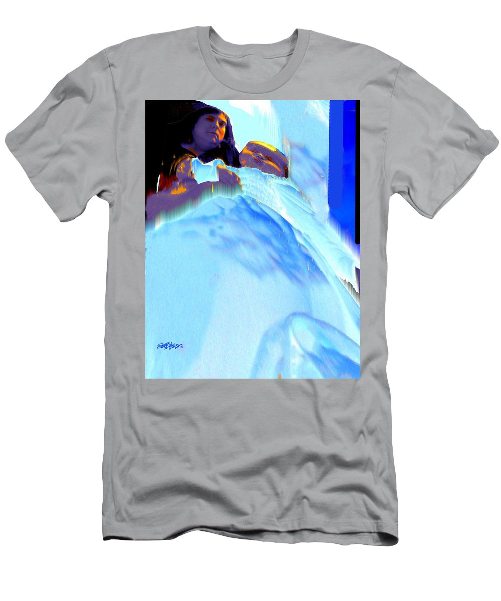 Baby Men's T-Shirt (Athletic Fit) featuring the photograph Blue Blanket by Seth Weaver