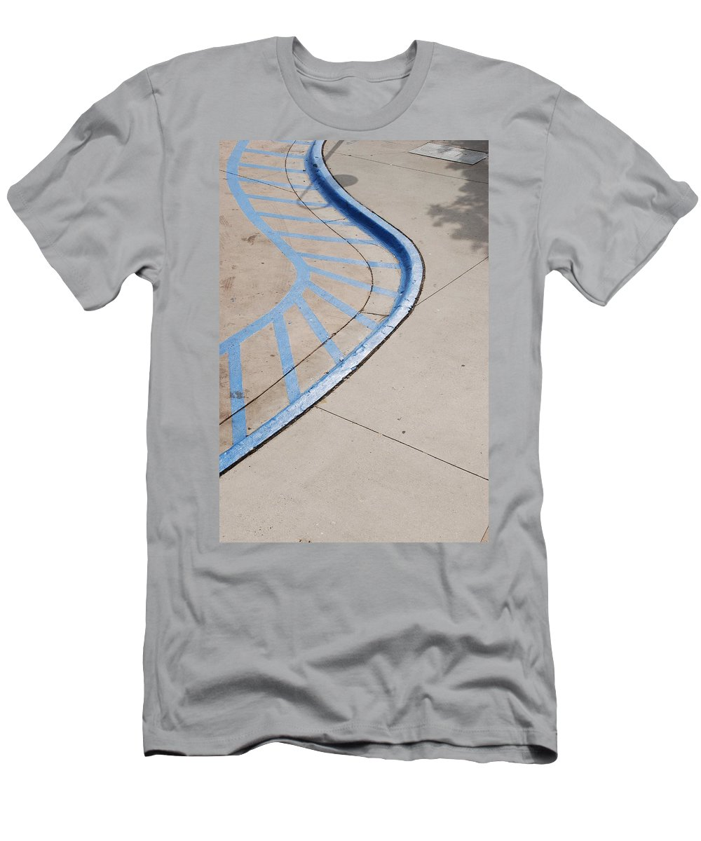 Blue Men's T-Shirt (Athletic Fit) featuring the photograph Blue Zone by Rob Hans