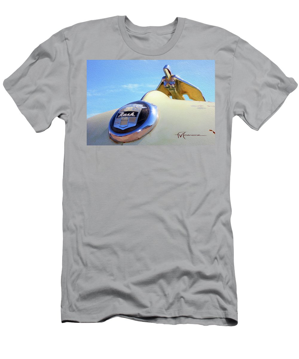 Classic Automobiles Men's T-Shirt (Athletic Fit) featuring the photograph Born To Fly by Felipe Gomez