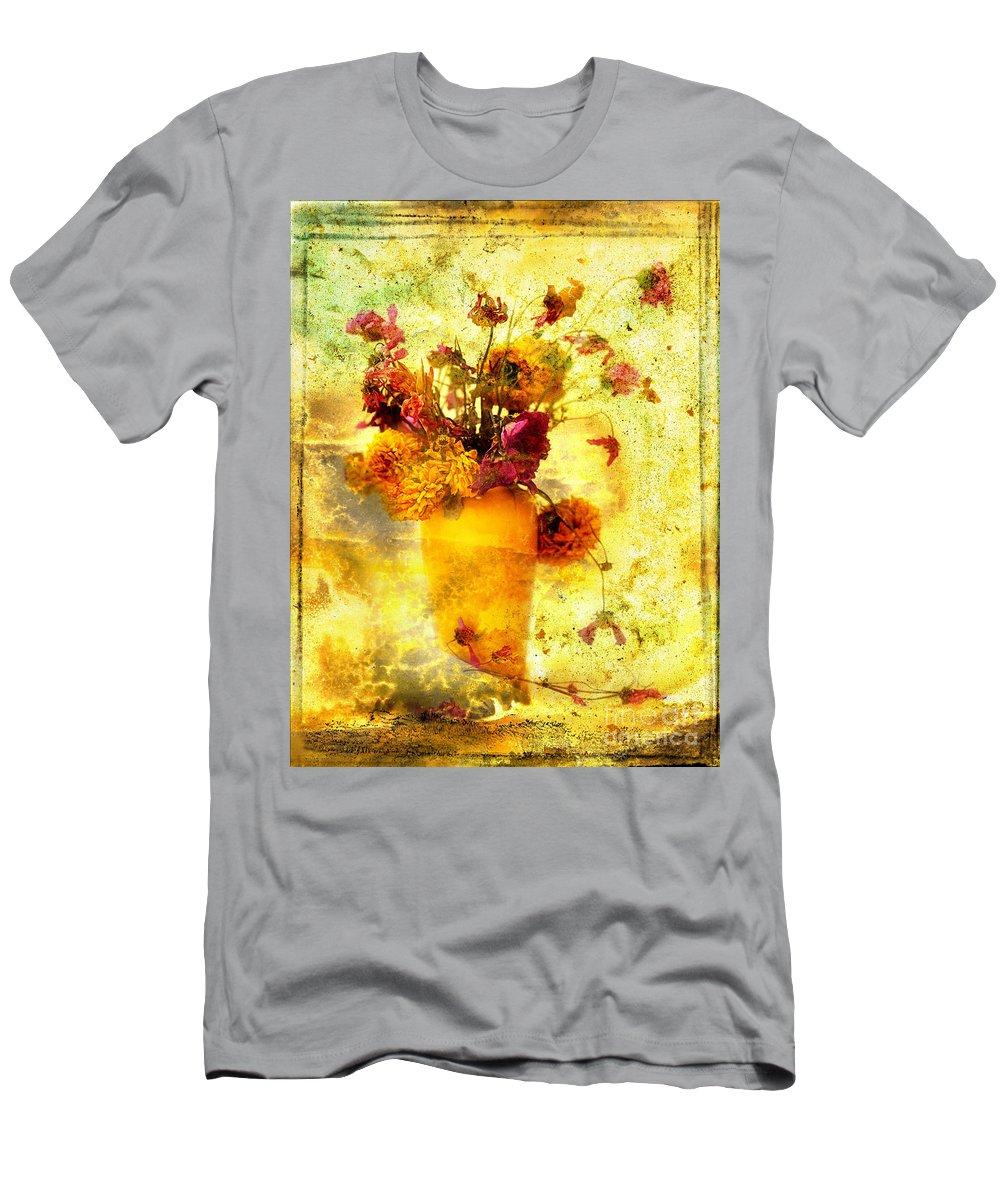 Art Men's T-Shirt (Athletic Fit) featuring the photograph Bouquet by Bernard Jaubert