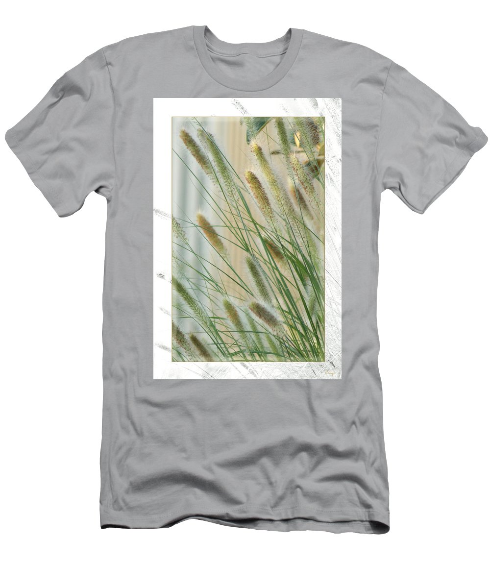 Floral Men's T-Shirt (Athletic Fit) featuring the photograph Breeze by Holly Kempe