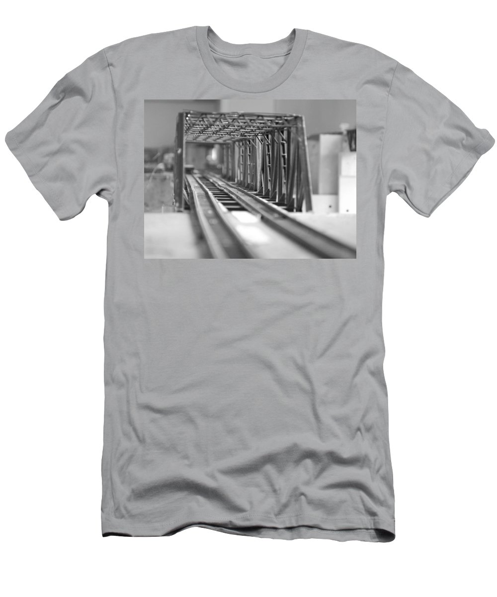 Models Men's T-Shirt (Athletic Fit) featuring the photograph Bridge To Jerry Town by Margaret Fortunato