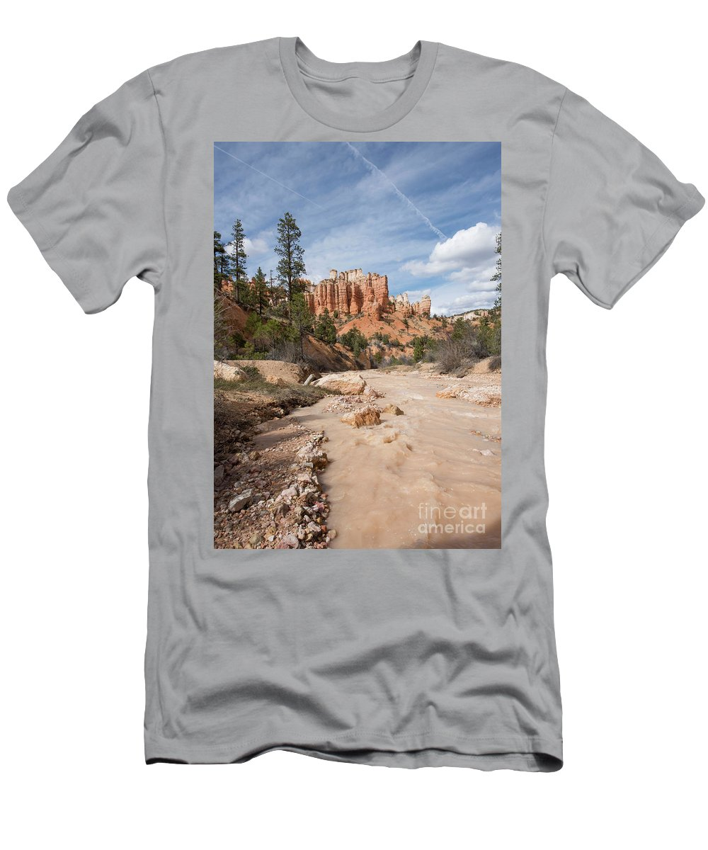 Bryce Canyon National Park Men's T-Shirt (Athletic Fit) featuring the photograph Bryce Canyon by Juli Scalzi