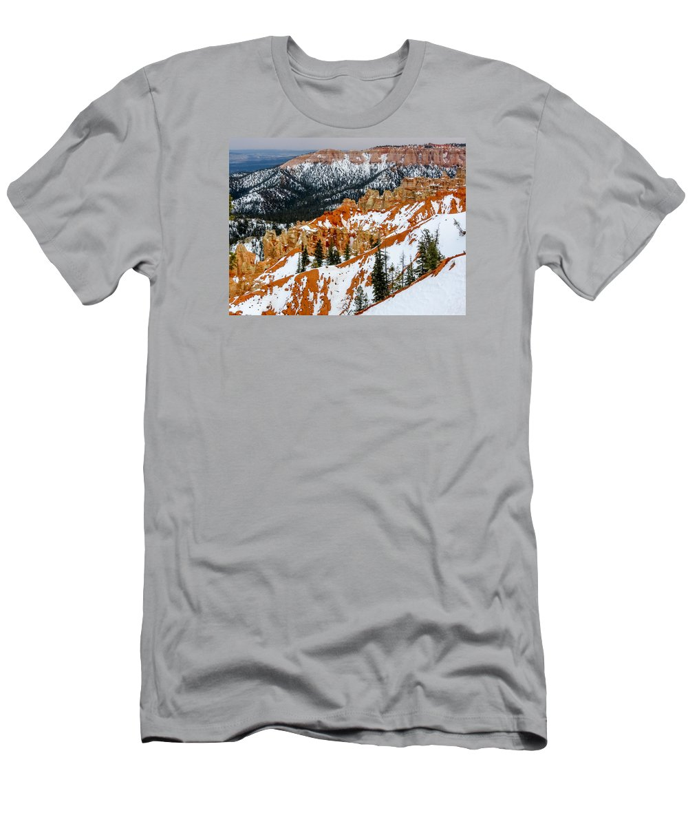 Bryce Canyon National Park Men's T-Shirt (Athletic Fit) featuring the photograph Bryce Canyon Series #1 by Patti Deters