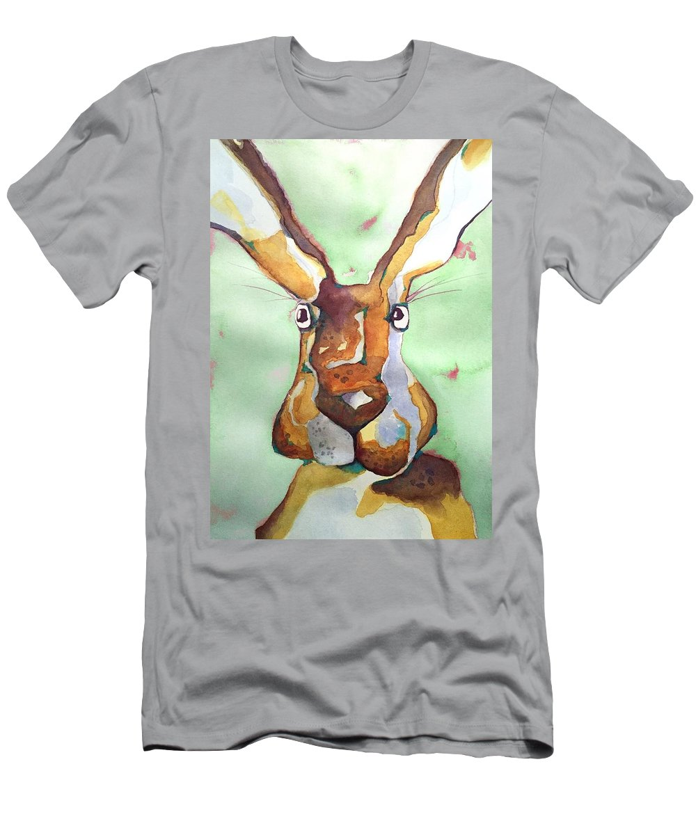 Men's T-Shirt (Athletic Fit) featuring the painting Bugsy Malone by Michael Rome