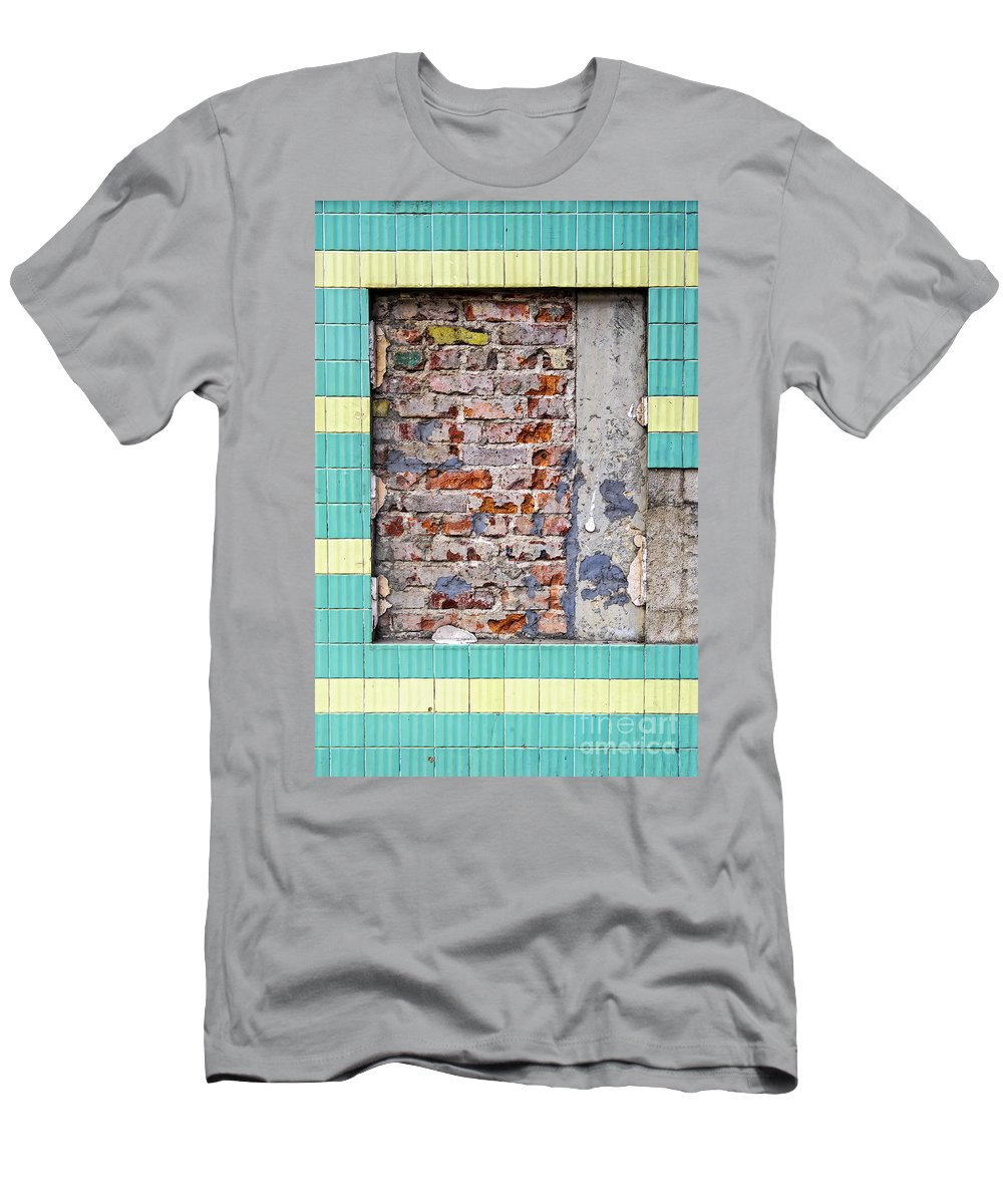 Abstract Men's T-Shirt (Athletic Fit) featuring the photograph C O S M E T I C S by Charles Dobbs