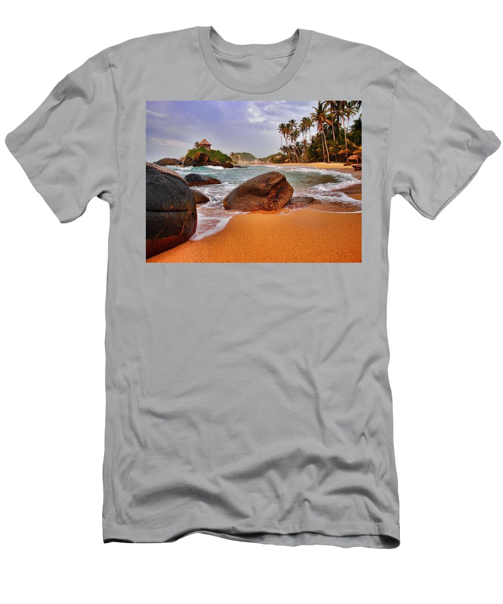 Cabo San Juan Men's T-Shirt (Athletic Fit) featuring the photograph Cabo San Juan by Skip Hunt