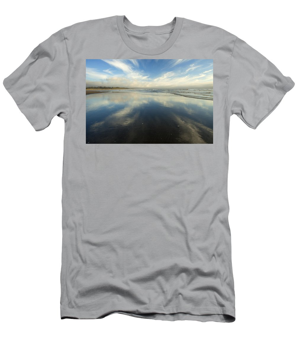 Cirrus Men's T-Shirt (Athletic Fit) featuring the photograph California Cirrus Explosion by Mike Dawson