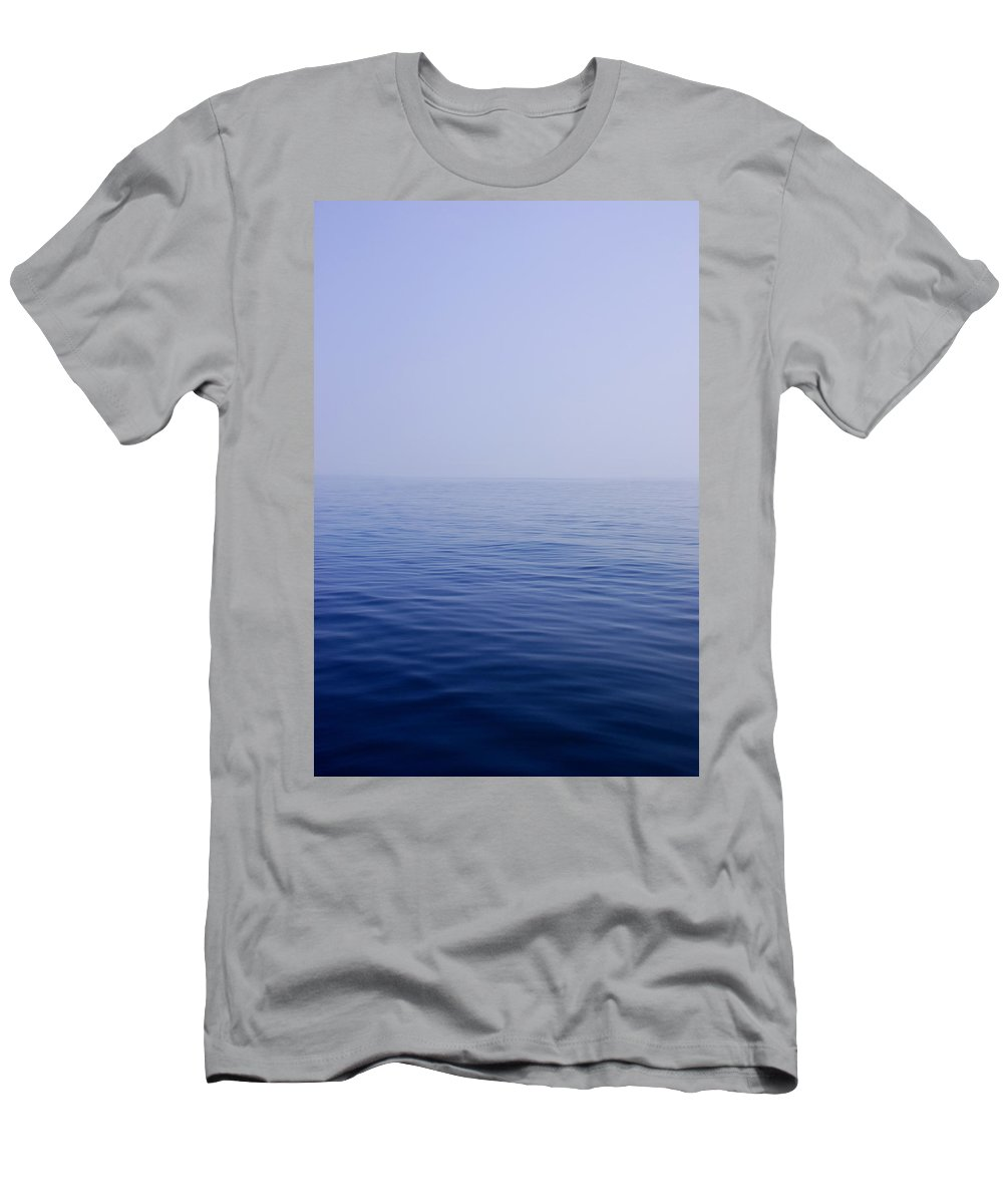 Calm Men's T-Shirt (Athletic Fit) featuring the photograph Calm Sea by Charles Harden