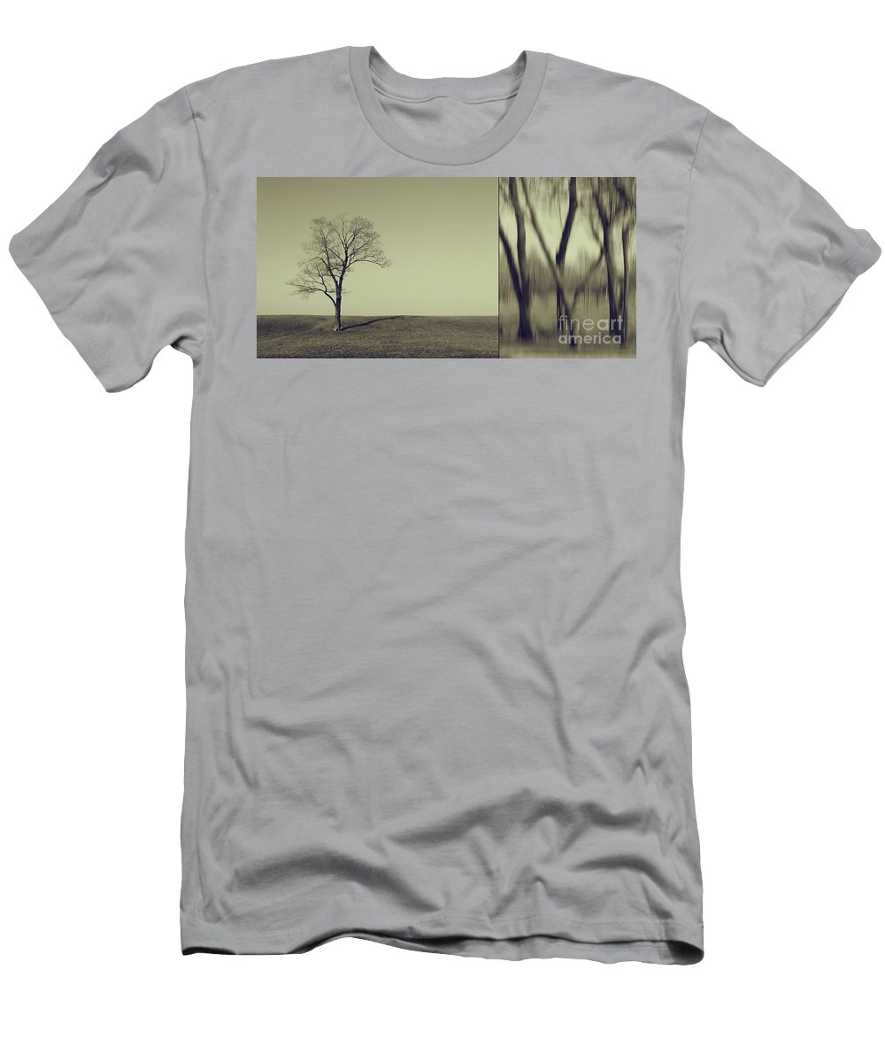 Chicago Men's T-Shirt (Athletic Fit) featuring the photograph Can You Hear My Silent Words Whispering Along The Wind by Dana DiPasquale