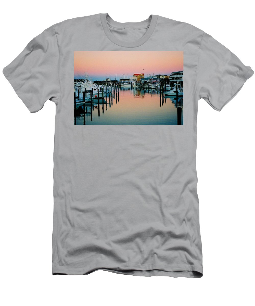 Cape May T-Shirt featuring the photograph Cape May after Glow by Steve Karol