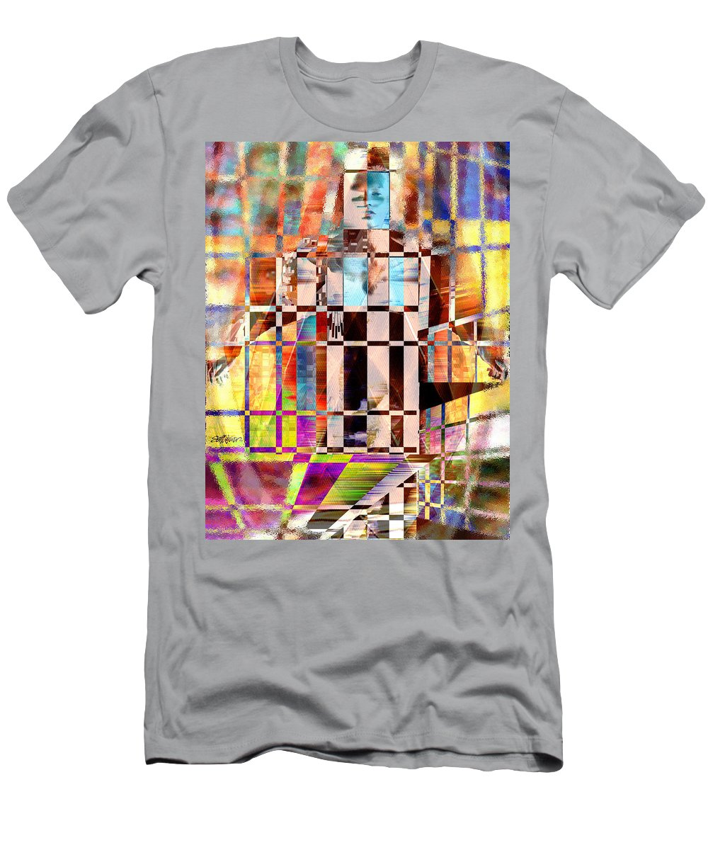 Abstract T-Shirt featuring the photograph Captivia by Seth Weaver