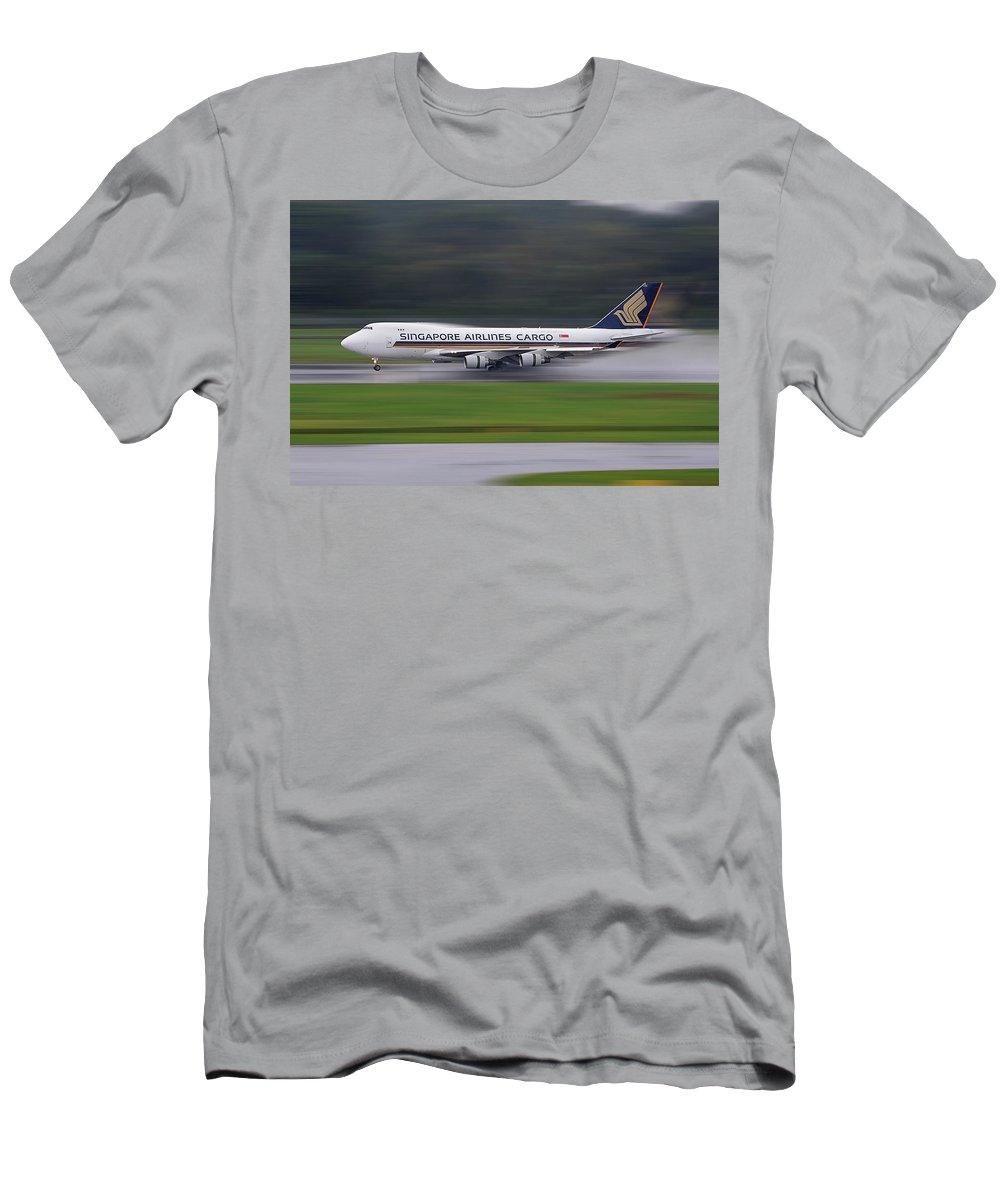 Cargo Men's T-Shirt (Athletic Fit) featuring the photograph Cargo by Dr Frikkie Bekker