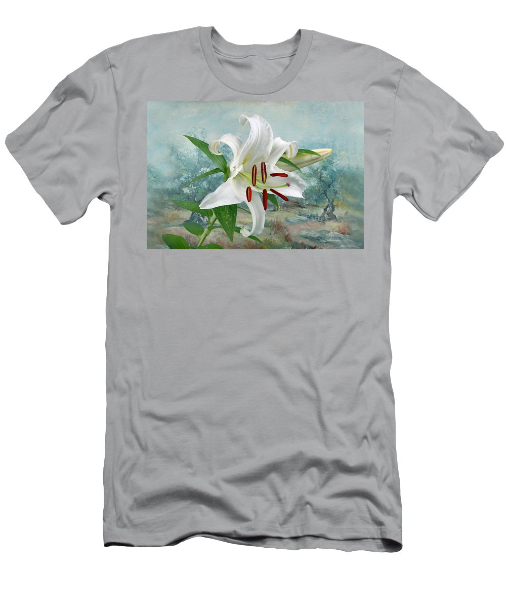 Casablanca Men's T-Shirt (Athletic Fit) featuring the photograph Casablanca by Manfred Lutzius